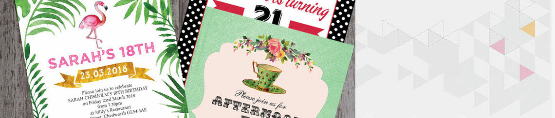 Womens Birthday Invitations