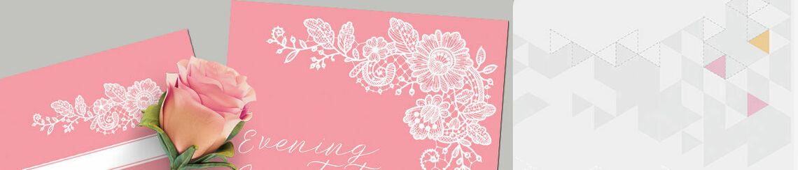 Floral Lace Wedding Stationery
