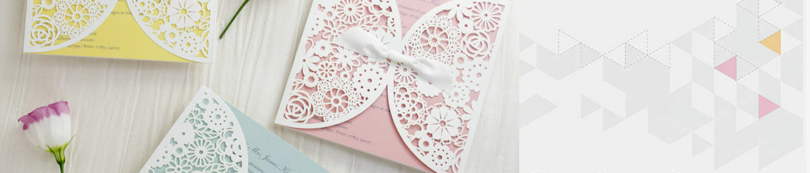 Luxury Laser Cut Wedding Invitations