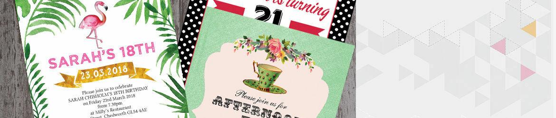 Birthday Invites For Women