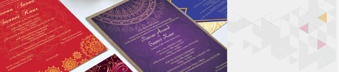 Indian Wedding Invitations