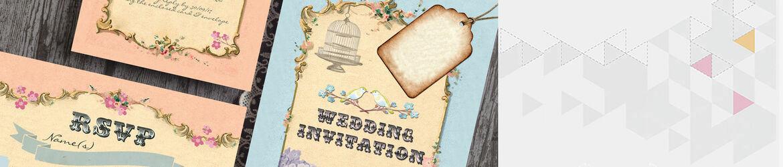 Pastel Pretty Wedding Stationery