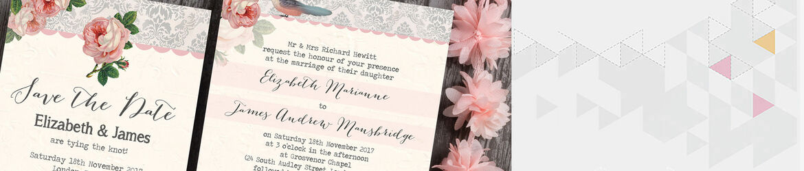Sweet Vintage Wedding Stationery
