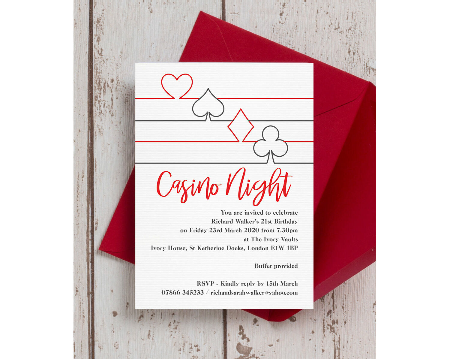 It is a graphic of Free Printable Casino Party Invitations with regard to deck card