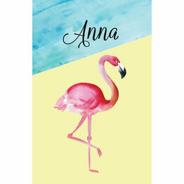 Flamingo Fiesta Wedding Place Cards