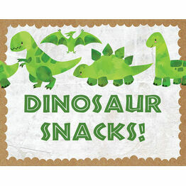 Dinosaur Party Sign / Poster