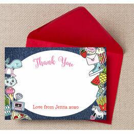 School's Out'  Teen / Tween Thank You Card