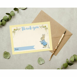 Pack of 10 Beatrix Potter Peter Rabbit Thank You Cards