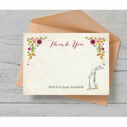 Velveteen Rabbit Thank You Card