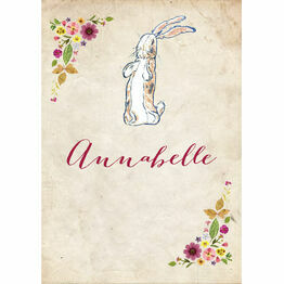 Velveteen Rabbit Name Cards - Set of 9