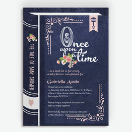 Storybook / Fairytale Baby Shower Invitation