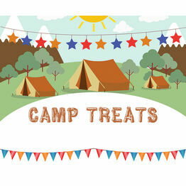 Camping Themed Birthday Party Sign