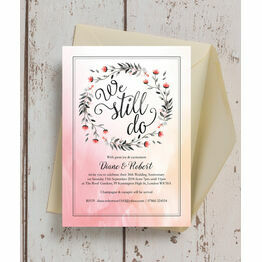 'We Still Do' 30th / Pearl Wedding Anniversary Invitation