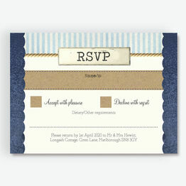 Nautical Knot RSVP