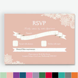Romantic Lace RSVP