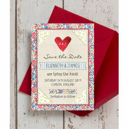 Country Textiles Save the Date