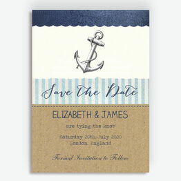 Nautical Knot Save the Date