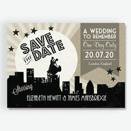 Vintage Hollywood Save the Date