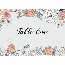 Wild Flowers Table Name