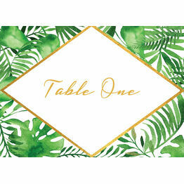 Tropical Leaves Table Name