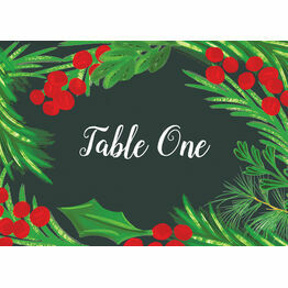 Winter Berries Table Name