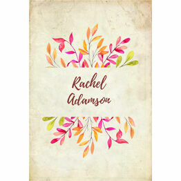 Autumn Leaves Place Cards - Set of 9