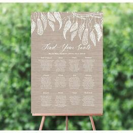 Dream Catcher Wedding Seating Plan
