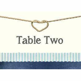 Nautical Knot Table Name