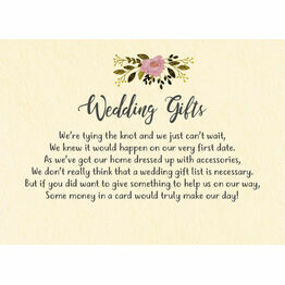 Rustic Farm Gift Wish Card