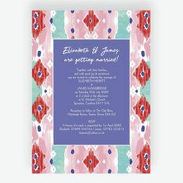 Summer Festival Wedding Invitation
