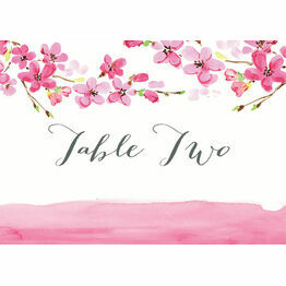 Cherry Blossom Table Name
