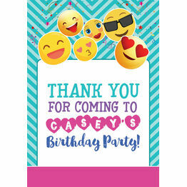 Emoji Themed Personalised Party Printable Sign