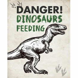Jurassic Dinosaur Party Sign