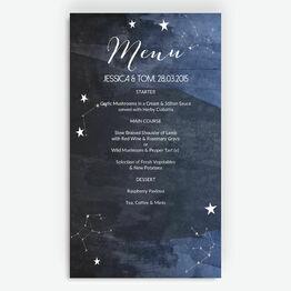 Midnight Stars Menu