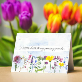 Pack of 10 Wild Flowers Note Cards
