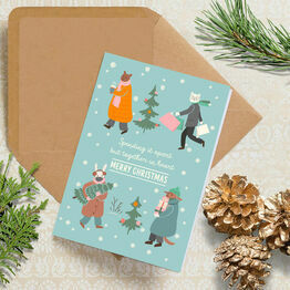 Pack of 10 'Together In Heart' Christmas Cards