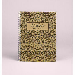 Personalised \'Wanderlust\' A5 Notebook