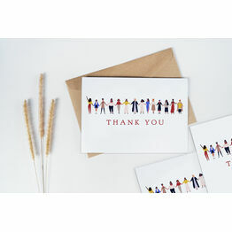 Pack of 10 Women Supporting Women Thank You Note Cards