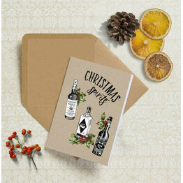 Christmas Spirits Personalised Christmas Cards
