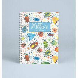 Personalised Minibeasts Notebook