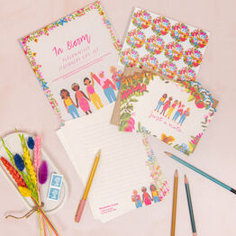 In Bloom Personalised Letter Writing Stationery Set