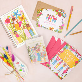 In Bloom Floral Women Stationery Gift Set