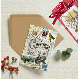 Vintage Memories Personalised Christmas Cards
