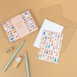 Set Of 10 Strong Women Note Cards With Envelopes