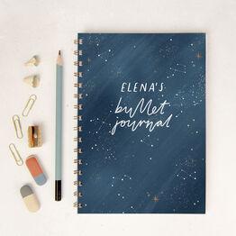 Peaceful Night Personalised Bullet Journal