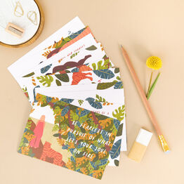 10 Empowering Wild Women Note Cards With Envelopes