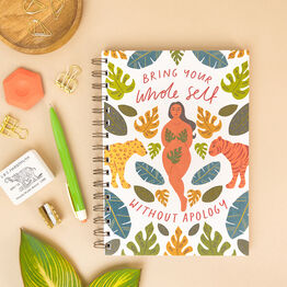 'Bring Your Whole Self…' Personalised Notebook