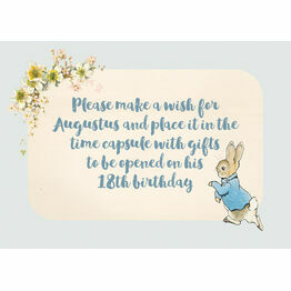 Beatrix Potter Peter Rabbit Sign