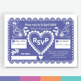 Mexican Inspired Papel Picado RSVP