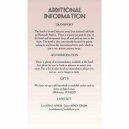 Pastel Art Deco Guest Information Card